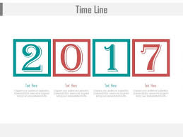 timeline for year 2017 for business powerpoint slides powerpoint