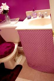 Purple Bathroom Ideas The 25 Best Sink Skirt Ideas On Pinterest Bathroom Sink Skirt