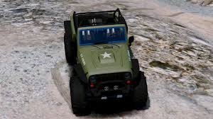 army jeep 2017 od army livery for jeep trailcat gta5 mods com