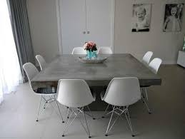 cement table and chairs interesting design concrete dining room table 94 l dining table
