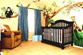 Diy Baby Nursery Decorating Ideas Amazingly Beautiful Baby Boy Nursery Themes A Jungle Decals For