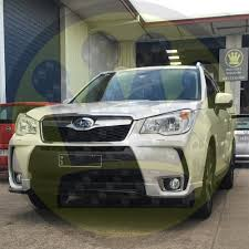 subaru forester xt 2016 sti style front lip s4 forester xt
