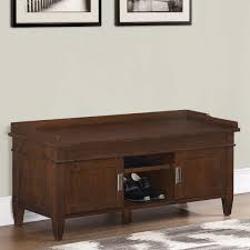 hollister entryway storage bench
