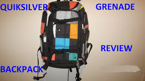 Tas Travel Quicksilver quiksilver grenade backpack review 22l