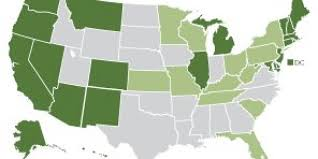 Marijuana Legalization Map This Map Shows Just How Quickly America Has Embraced Marijuana