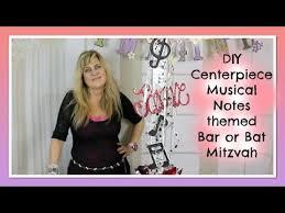 Musical Note Decorations Diy Bar Mitzvah Centerpiece Bat Mitzvah Centerpieces Diy Musical