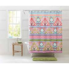better homes and gardens jeweled damask 70 x 72 polyester shower