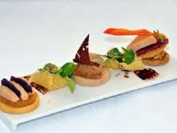 canap foie gras recette trilogie évolutive autour du foie gras 750g