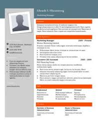Free Colorful Resume Templates Free Resume Templates You U0027ll Want To Have In 2017 Downloadable