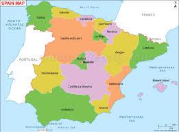 Asturias Spain Map by Spain By Paula Nguyen
