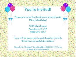 birthday invitations wording template resume builder