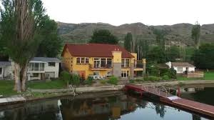 osoyoos lake house villa modern tuscan style home in the