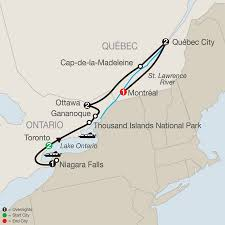 Ottawa Canada Map by Eastern Canada Tours U0026 Vacation Packages Globus U0026 Vacation