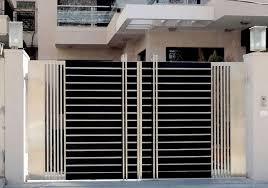 modern stainless steel main gates design idea fences pinterest
