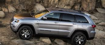 jeep grand cherokee trailhawk off road 5 suvs you can still actually take off road slashgear