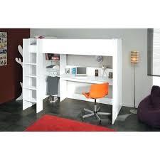 lit surélevé avec bureau lit et bureau ado lit lit mezzanine avec bureau ado womel co