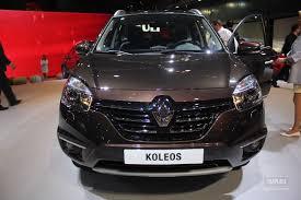 renault koleos 2015 interior 2013 renault koleos debuts at the buenos aires motor show