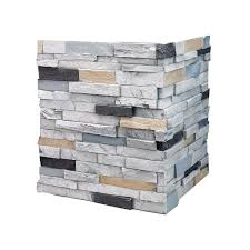 Faux Stone Column Wraps by Square Column Wraps