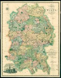Large Scale Map Greenwood U0027s Large Scale Map Of Wiltshire Maps Daniel Crouch