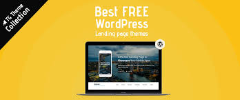 best free best free landing page themes and templates 2018