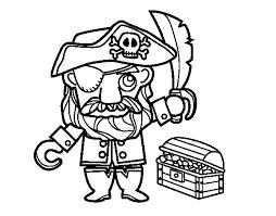 pirate treasure coloring coloringcrew