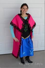 Halloween Anna Costume 55 Fun Disney Halloween Costumes Drench Happiness