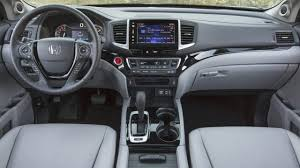 honda ridgeline interior the ridgeline u0027s controls are