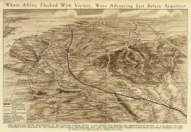 Ww1 Map Maps Of Wwi