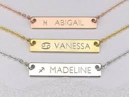 best name necklace 35 best name necklace images on name necklace gold