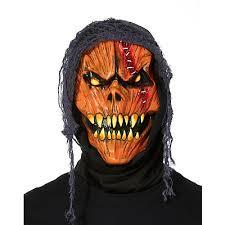 pumpkin mask metallic pumpkin mask spirithalloween
