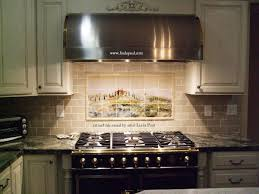 Tile For Backsplash In Kitchen Kitchen Backsplash Tile Murals By Linda Paul Studio By Linda Paul
