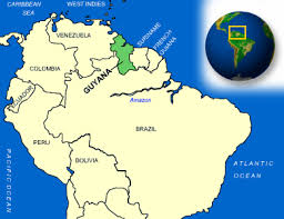 Map Of Northern South America by Guyana Facts Culture Recipes Language Government Eating