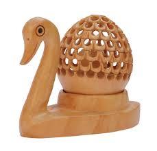 Duck Home Decor Bulk Wholesale Hand Carved 4 U201d Decoration Piece Of Duck In Kadam