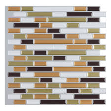 Kitchen Backsplash Tiles Peel And Stick Peel And Stick Wall Tile Kitchen And Bathroom Backsplashes 10 Pcs