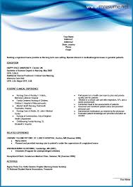 Dartmouth Resume Resume Sample For Nurse Professional Resume Cover Letter Sample