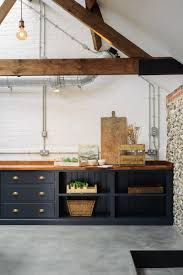wood kitchen cabinets uk a modern shaker kitchen in an uk cattle shed the style