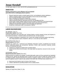 Some Examples Of Resume by Some Example Of Resume