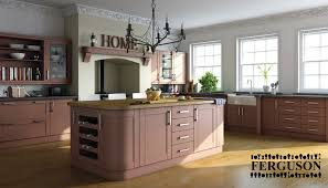 Hive Homes by Red Shaker Oak Kitchen Ferguson Hive Kitchens