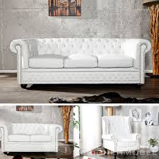 Ebay Chesterfield Sofa by Ebay Chesterfield Sofa Gebraucht Quality Tufted Leather