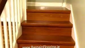 laminate flooring laminate stairs bargainflooring ie how to install laminate fit flooring in bathroom dublin