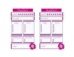 9 best images of to do list blank template free printable weekly