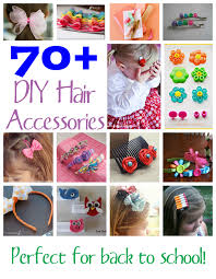 toddler hair accessories 70 diy hair accessories family crafts