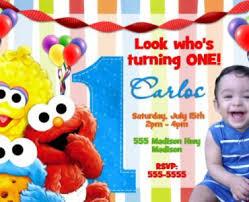 elmo 1st birthday invitations elmo 1st birthday invitations in