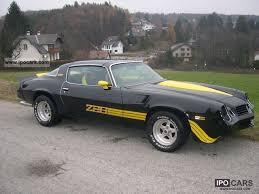 1981 chevrolet camaro z28 car photo and specs