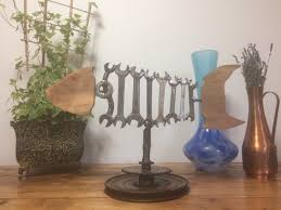 upcycled metal fish junk art mancave tool art home decor office