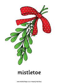 christmas mistletoe mistletoe poster
