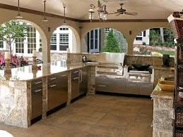 outside kitchen design ideas 36 awesome outdoor kitchen design ideas bellezaroom