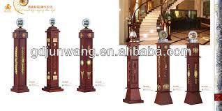 Wood Banister Decorative Square Wood Banister Railings Designs Large Column Jw