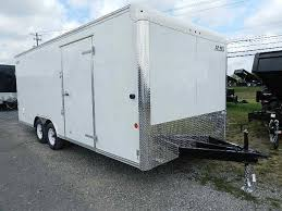 Cargo Trailer Awning Carmate 8 5 X 20 Enclosed Car Trailer 7k Awning Get Out Door