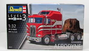 kenworth aerodyne revell 07671 kenworth aerodyne truck new model kit 1 32 what u0027s